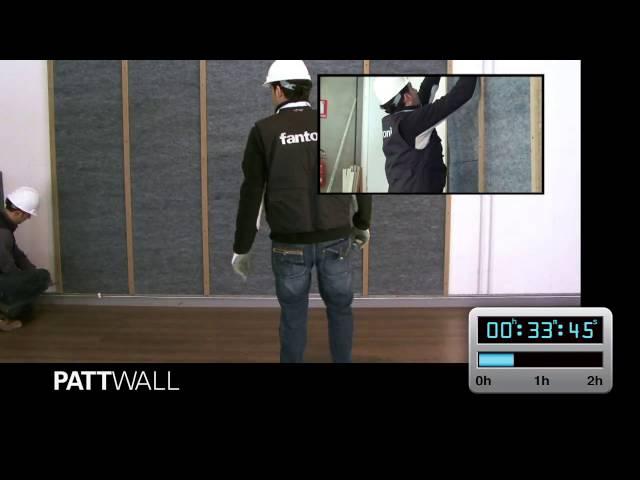installazione pattwall fantoni