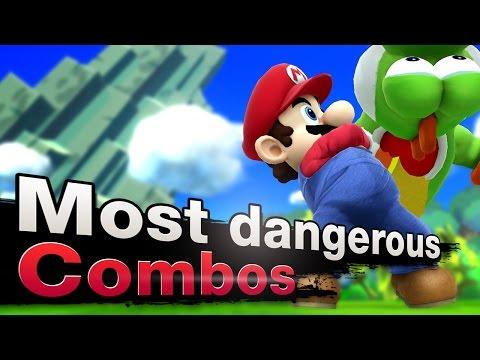 Smash 4 Wii U - Top 3 Most Dangerous Mario Combos