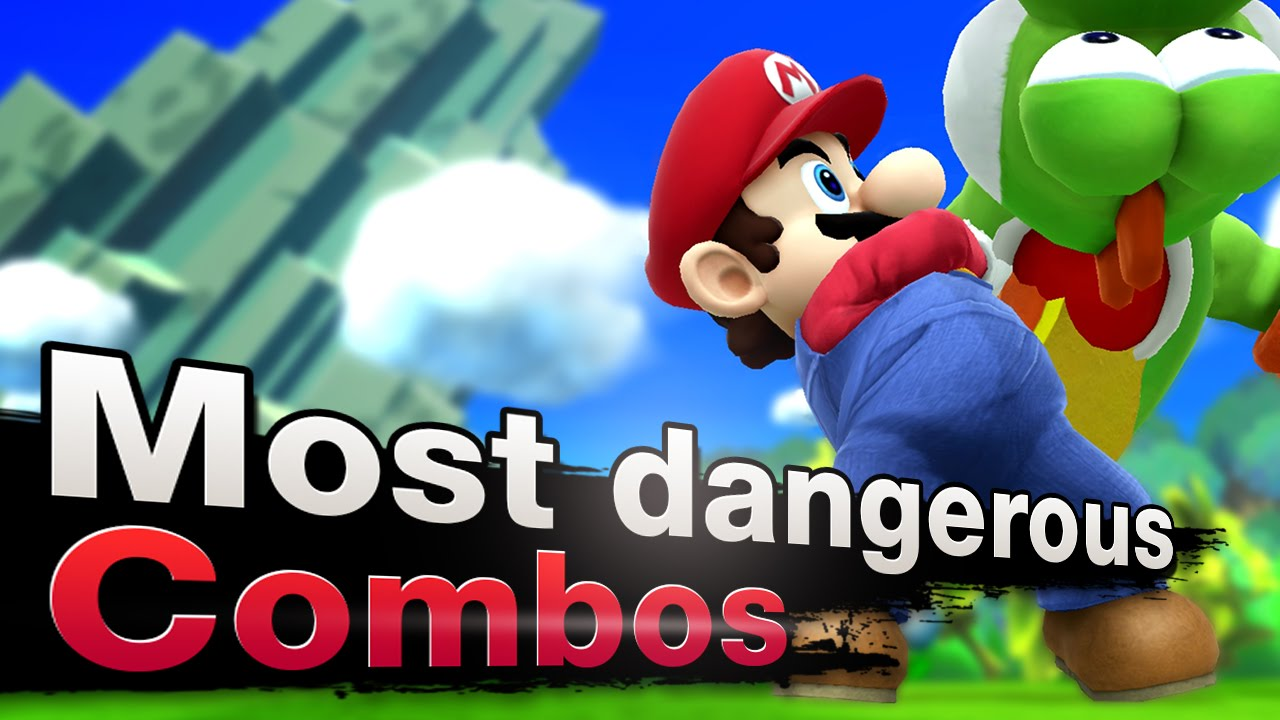 Smash 4 Wii U - Top 3 Most Dangerous Mario Combos