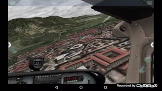 How to do a circuit flight-X-plane 10 (Android)