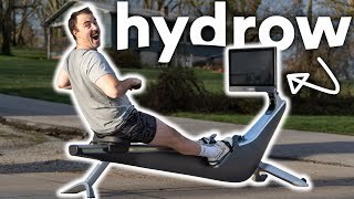 Hydrow Rowing Machine Review: The Peloton of Rowers!