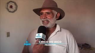 Secretário Francisco Teixeira da SRH visitou a fazenda do Chico do Dico