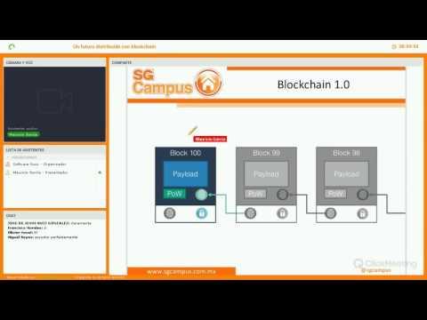 Un futuro descentralizado con blockchain