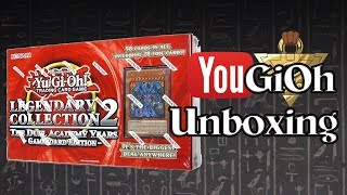YuGiOh Legendary Collection 2 Unboxing - Gameboard Edition