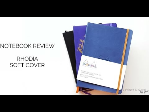 Notebook Review Rhodia Soft Cover Youtube