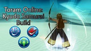 Kyudo Samurai (Bow + Katana) Build Guide and Demonstration (Toram Online)
