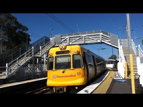 29/10/16 Brisbane Train Ride Murarrie to South Brisbane Part 1/2