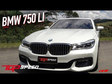 Avaliação BMW 750 LI | Canal Top Speed