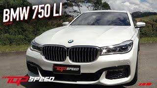 Avaliação BMW 750 LI   Canal Top Speed