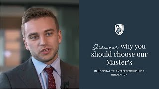 Master's in Hospitality, Entrepreneurship and Innovation – Testimonials