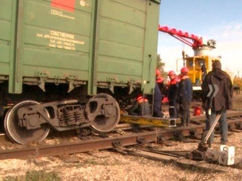 В Пензе с рельсов сошел поезд