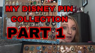 MY DISNEY PIN COLLECTION PART 1. NIGHTMARE BEFORE CHRISTMAS