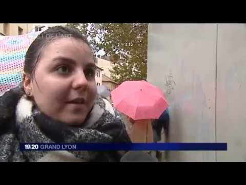 """Balade urbaine """"Lyon et ses graffitis : langages de la ville et paroles en mutation"""""""