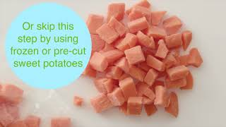 How to cook sweet potato
