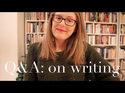 Q & A: Writing & Being An Author