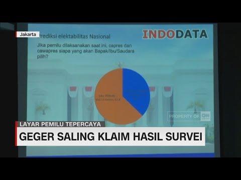 Geger Saling Klaim Hasil Survei