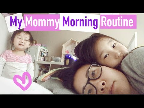 🤔😱👪My REAL Mommy Morning Routine...