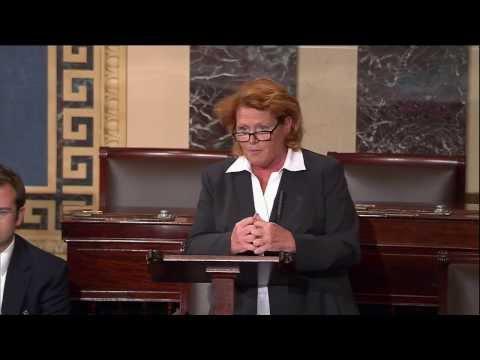 Senator Heitkamp Discusses Importance of Passing a Comprehensive Farm Bill