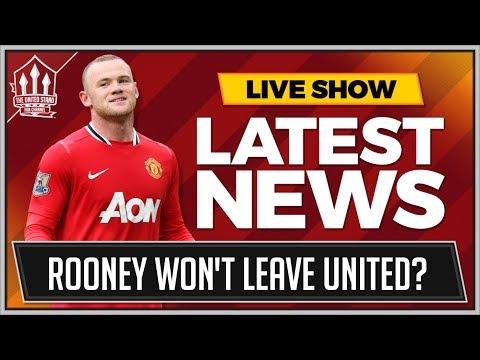 ROONEY Won't Leave MAN UTD? Plus FABINHO, MORATA, LUKAKU MAN UTD Transfer News