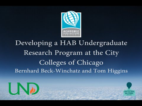 AHAC 2014: Developing a HAB Undergraduate Research Program