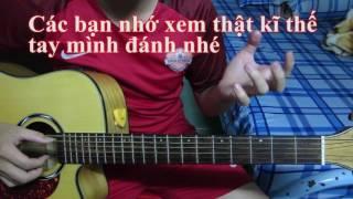 Dấu Mưa guitar hướng dẫn solo fingerstyle P1