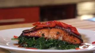 The Best Seared Maple and Hickory Cured Salmon