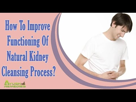 How To Improve Functioning Of Natural Kidney Cleansing Process