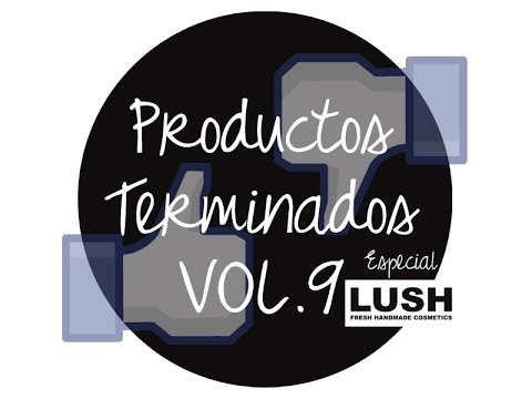 Productos terminados ★ FAVORITOS DE LUSH ★