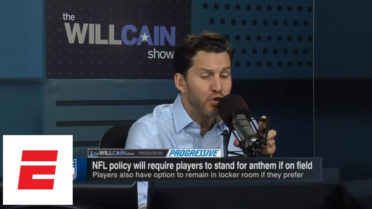 Will Cain: NFL national anthem policy about business, not about Donald Trump | Will Cain Show | ESPN