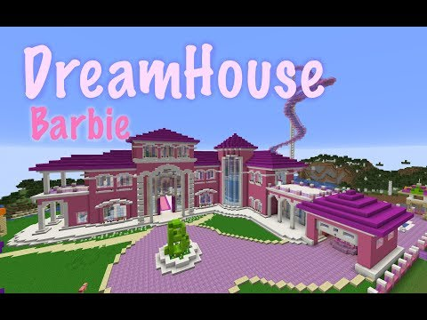 BARBIE DREAMHOUSE // Life in the Dreamhouse // In MINECRAFT