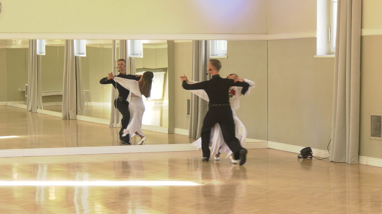 Sergiu & Dorota Rusu / Waltz Basic Routine / June 2020 - Dancelook Gliwice