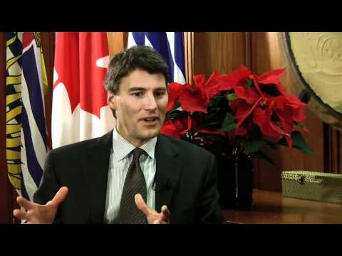 Gregor Robertson talks about his China trip