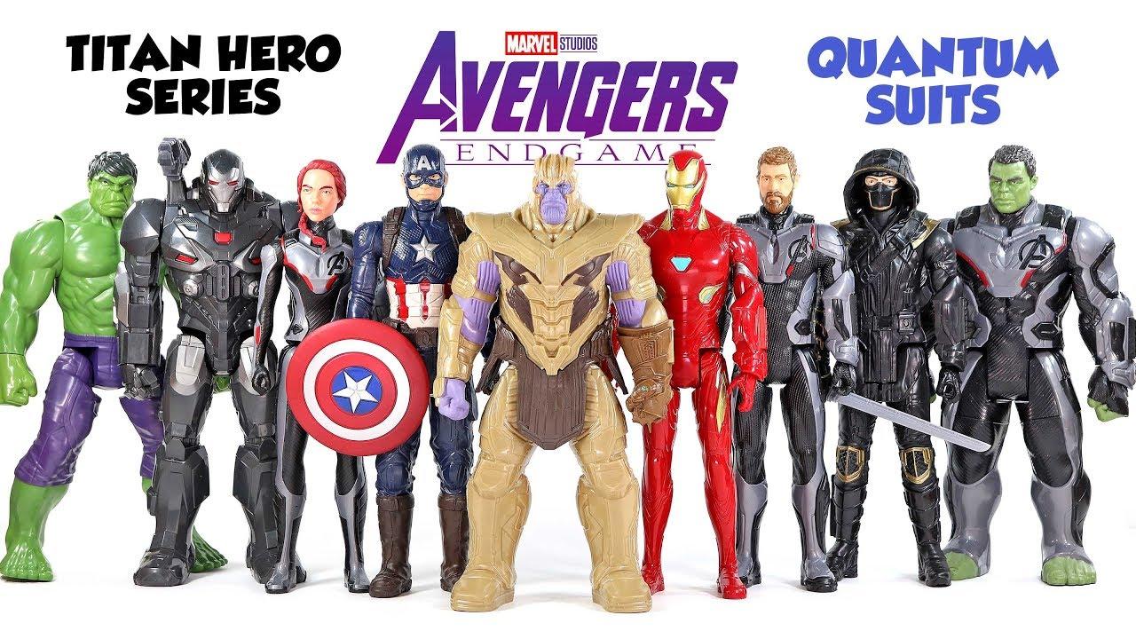 Marvel Avengers Endgame Titan Hero série Ronin 12-Inch ACTION FIGURE
