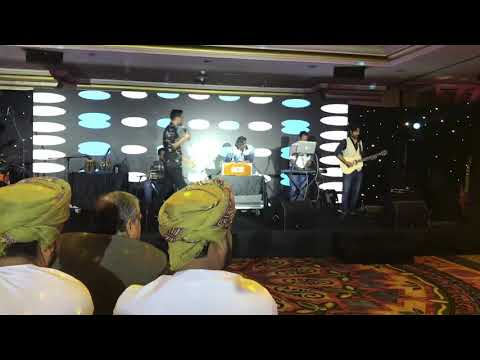 Ho lal meri path  by ali sethi  at  muscat grand  hayat