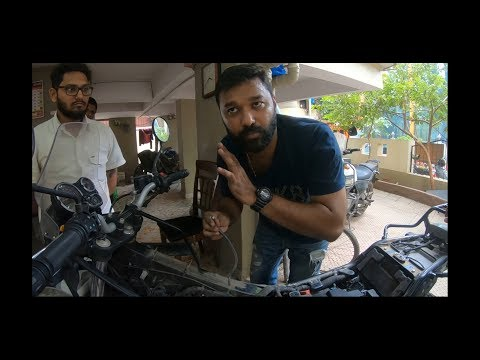 ROYAL ENFIELD HIMALAYAN ISSUE BS4   ENGINE STALLING ISSUE   ITS SOLUTION   Vlog 10 Part 1