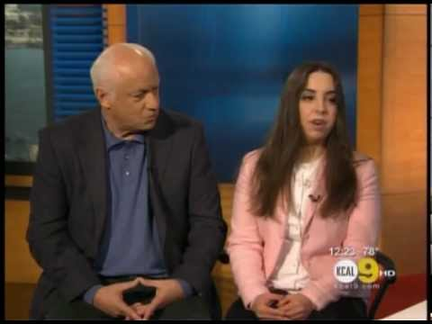 KCAL9 - Mia Mantegna interviews her father, Joe Mantegna for Inclusion News