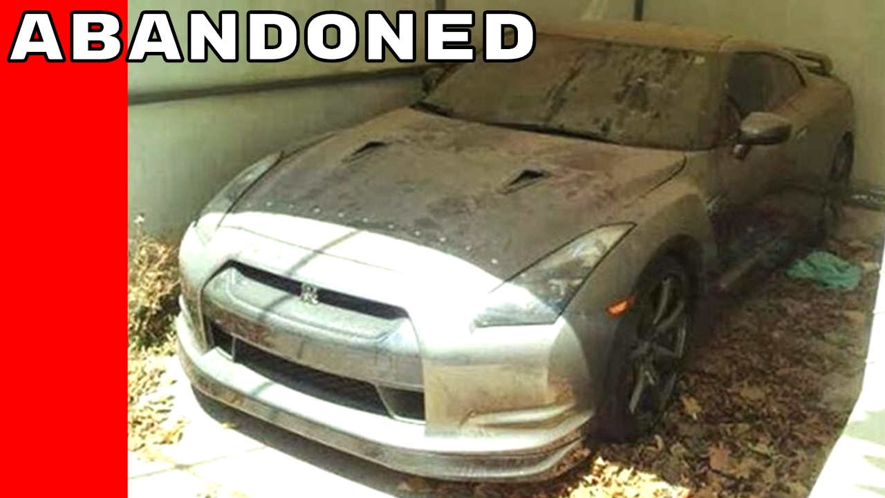 Iconic Rare Cars Abandoned Left To Rot