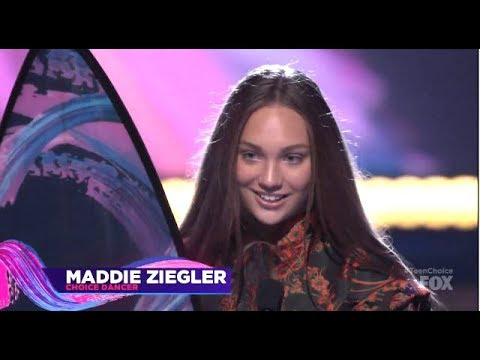 Ne-Yo & Naya Rivera (Step Up High Water)  Present Maddie Ziegler Choice Dancer Award 2017
