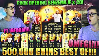 FIFA 16: PACK OPENING (DEUTSCH) - FIFA 16 ULTIMATE TEAM - 500K BEST OF! FT INFORM [BENZEMA IF & CO!]