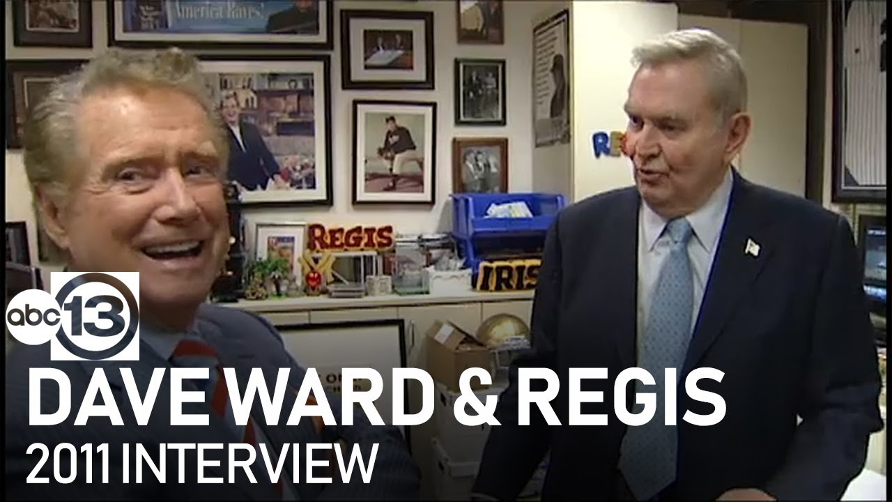 Download Regis Philbin takes ABC13's Dave Ward around his office