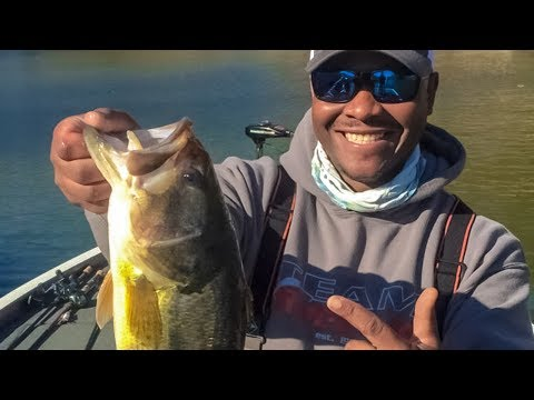 How To Fish Finesse Baits For Heavy Cover Bass