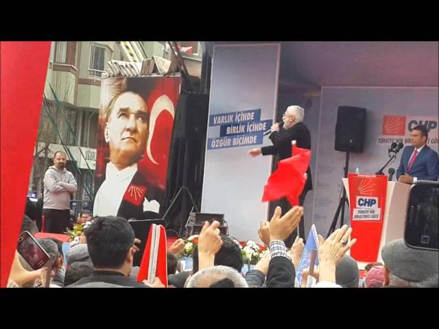 CHP Eskişehir Mitingi, Güldür Yüzümüzü CHP, Onur Akın