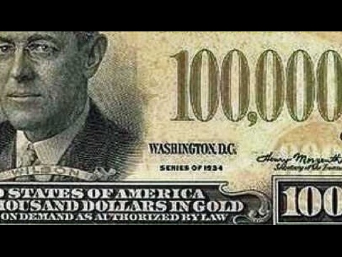 Did You Know There Was A $100,000 Bill?