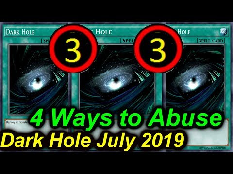 【YGOPRO】DARK HOLE - 4 DECKS THAT CAN ABUSE IT JULY 2019