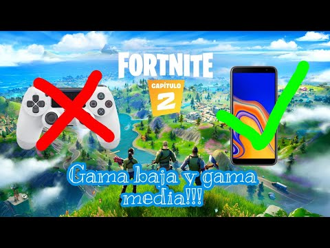 Como Jugar Fortnite En Dispositivos No Compatibles Gama Baja Y Gama Media
