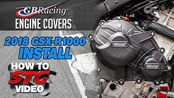 GB Racing 2018 Suzuki GSX-R1000 Engine Cover Install | Sportbiketrackgear.com