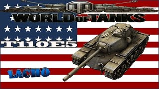 World of Tanks T110E5 Gameplay - 9 Kills 8,9K DMG