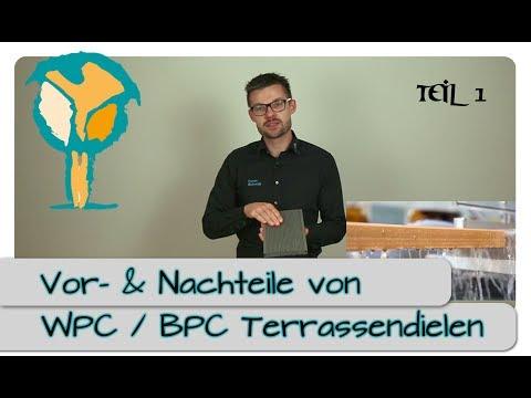 WPC & BPC Terrassendielen - Vorteile und Nachteile Part 1