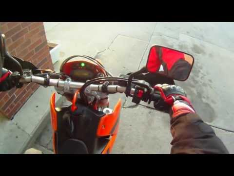 First Ride - KTM 625 SMC Supermoto