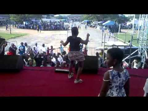 Girls Dancing @ the Ghana Music and Food Festival